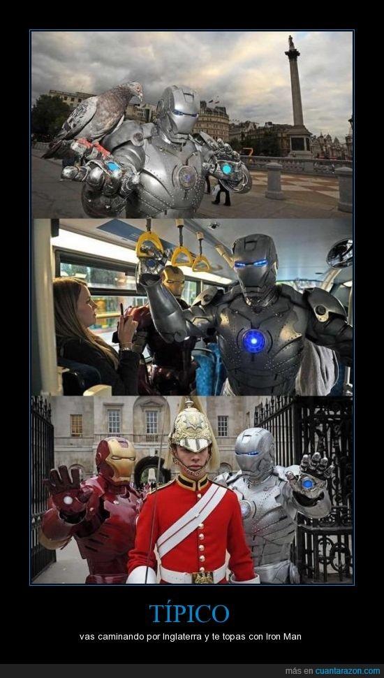 avenger,Inglaterra,Iron man,plateado,rojo,vengador,WTF
