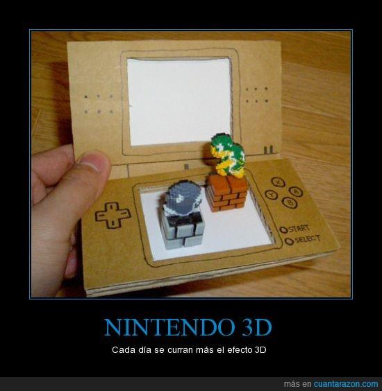 3D,Descrpción,Gráfica,Mario Bros,nintendo