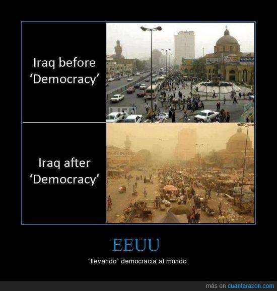 democracia,eeuu,guerra,iraq