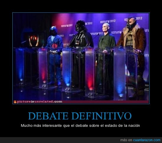 Batman,Gi Joe,Harry potter,mal,ojo,Sauron,señor,Star wars,vader,villanos