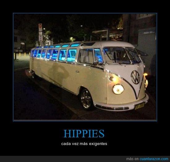 furgoneta,hippies,limusina,shut up and take my money,volkswagen