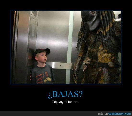 deprerador,elevador,niño,predator,win