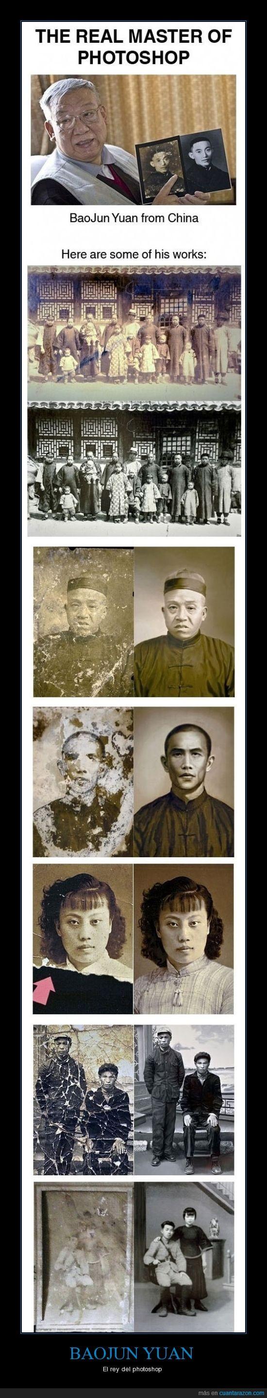 antigua,arregla,Asiático tenía que ser,BauJun Yuan,China,foto,photoshop,rey