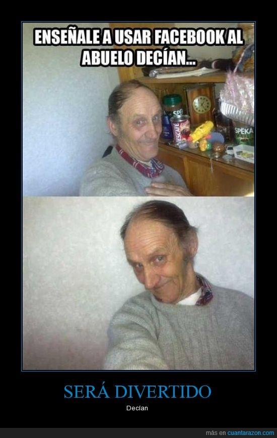 abuelo,autofoto,facebook,fotos a lo choni,que majo el hombre,red,social,yayo