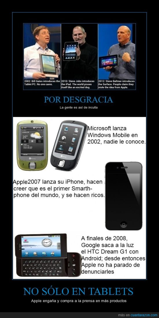 Android,apple,Comparación,google,htc,iOS,iphone,mac,Windows Mobile