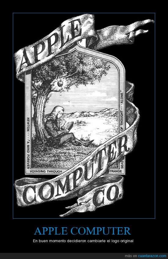 Appel,logotipo,viejo