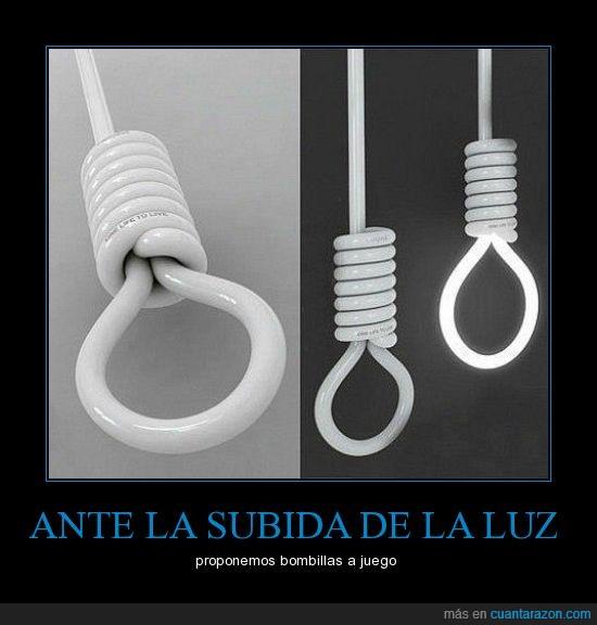bombillas,suicidio