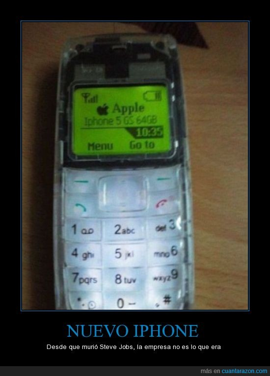 5,iphone,movil,nokia,piedra,teclado