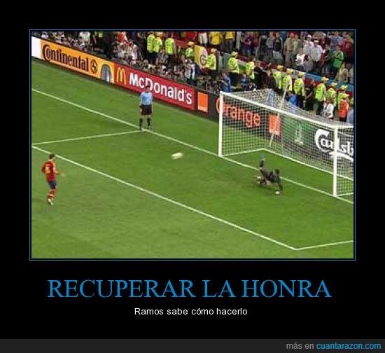 España,eurocopa,final,fútbol,gol,penalti,Ramos