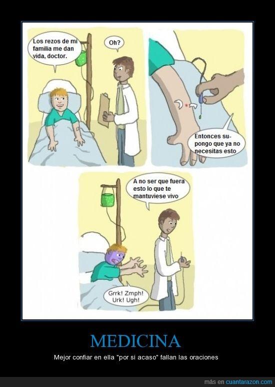 creencia,dios,doctor,enfermo,fe,medicina,oraciones,rezar,salva