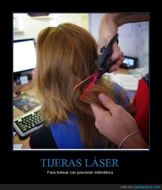 cortar,laser,Pelo,recto,tijeras