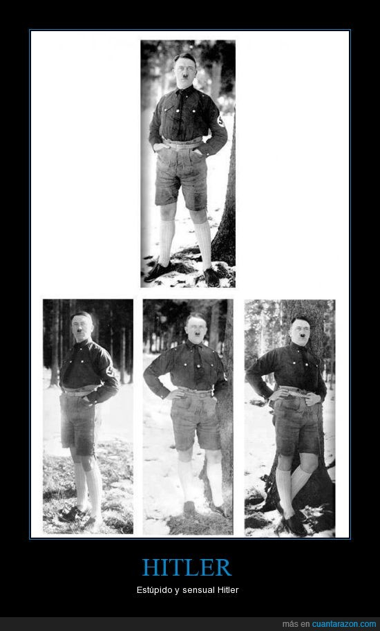 calcetines,calvin klein quiere ficharle,estupido,hitler,modelo,pero está muerto,pose,sensual