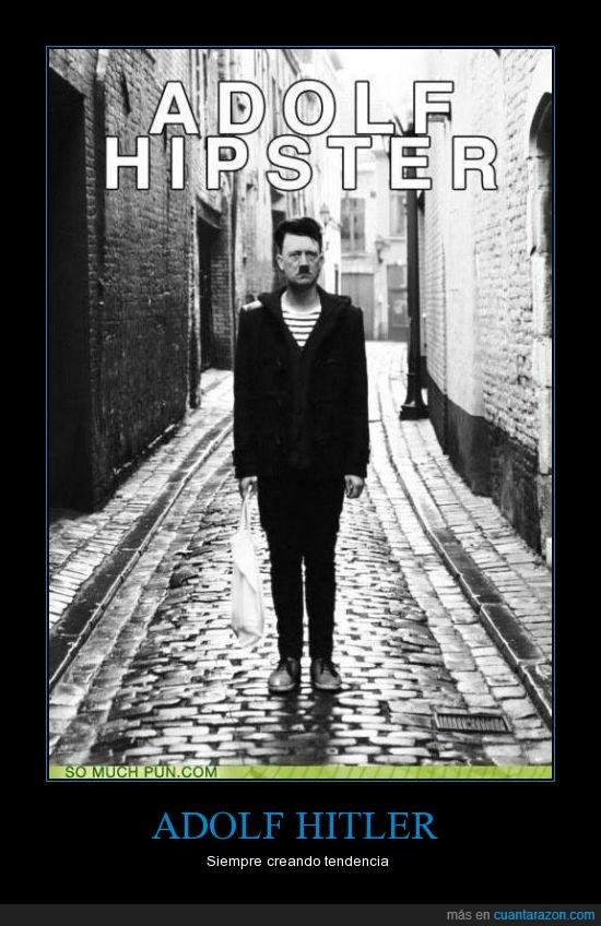 Adolf,Hipster,Hitler,moderno,nazi,usa instagram