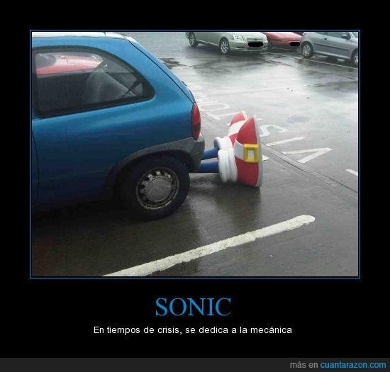 coche,Crisis,Mecanica,Sonic