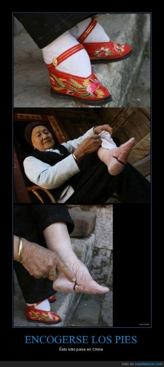 china,dedo,deformar,deforme,encoger,pequeño,pie,zapato