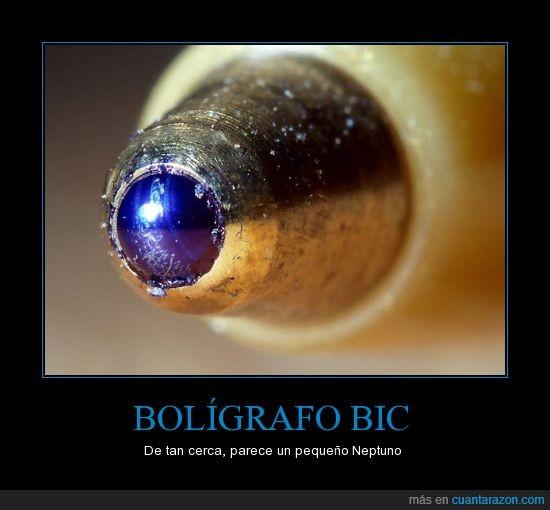azul,bic,boligrafo,cerca,close up,neptuno,planeta,punta,tinta,zoom