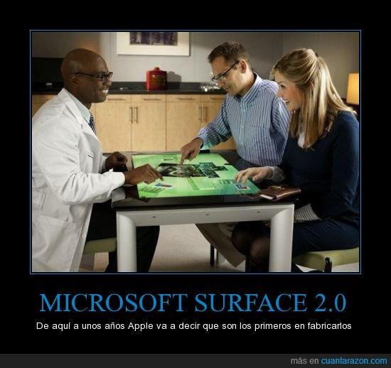 Mesa,Microsoft,Samsung SUR40,Surface