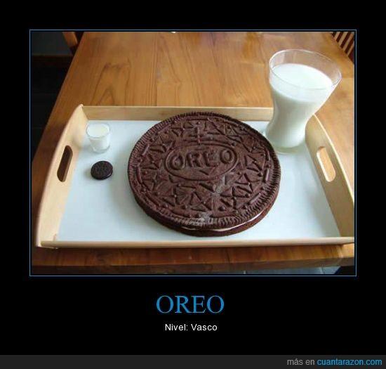 chocolate,galleta,grande,leche,oreo,vasco