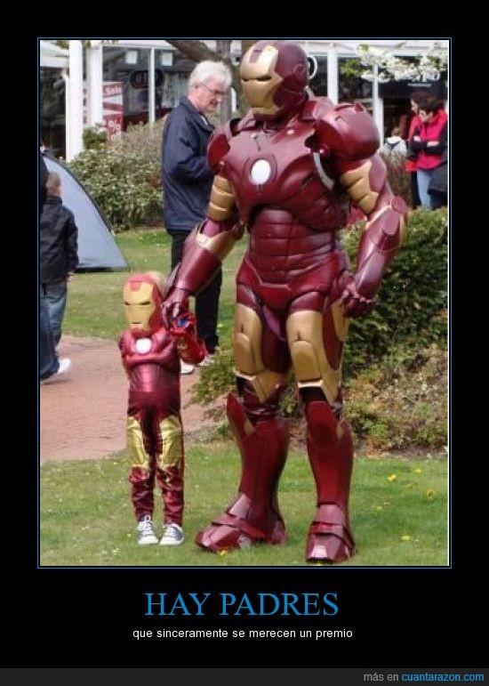 cosplay,disfraz,hijo,iron man,mini iron