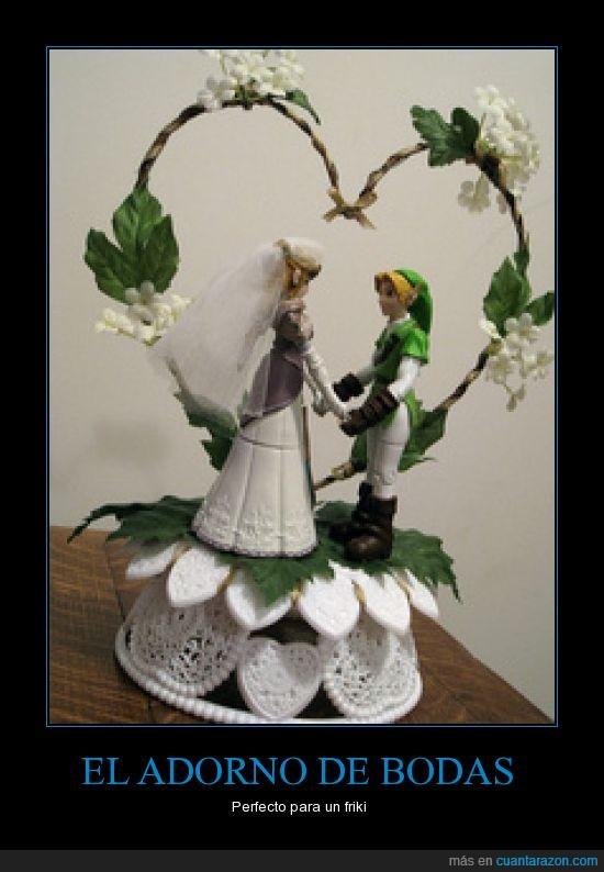 adorno,bodas,Link,The legend of Zelda,Zelda