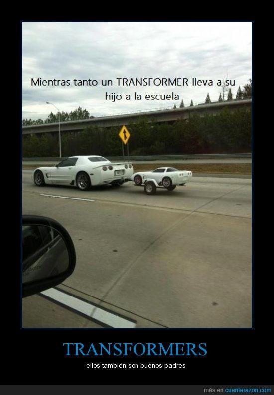 blanco,coche,cochecito,hijo,pequeño,transformer