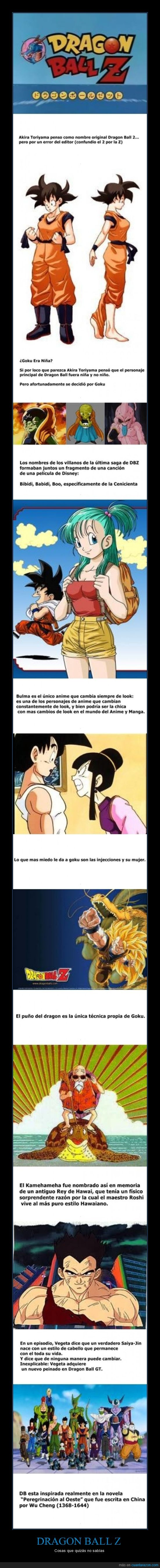 bola dragon,curiosidad,dragon ball,goku