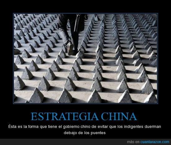 china,indigentes,puentes