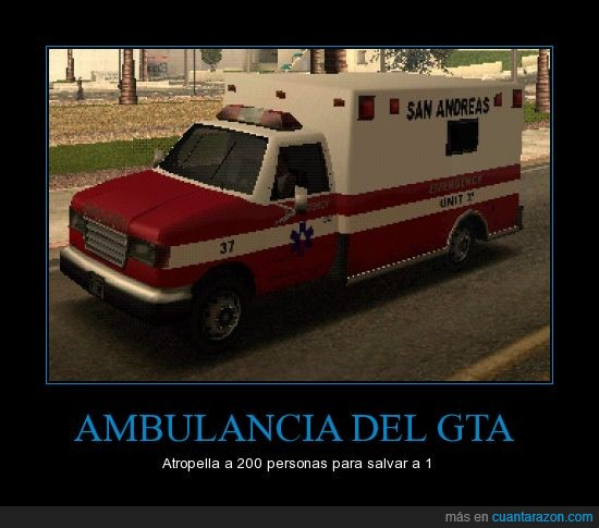 ambulancia,andreas,atropellar,gta,muerte,san