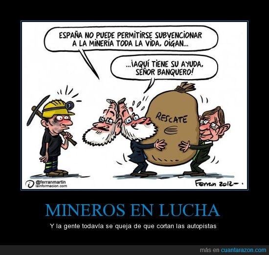 Dinero,Mariano Rajoy,Mineros,Rescate