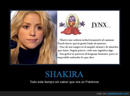 alaridos,gritos,Jynx,Pokémon,Shakira