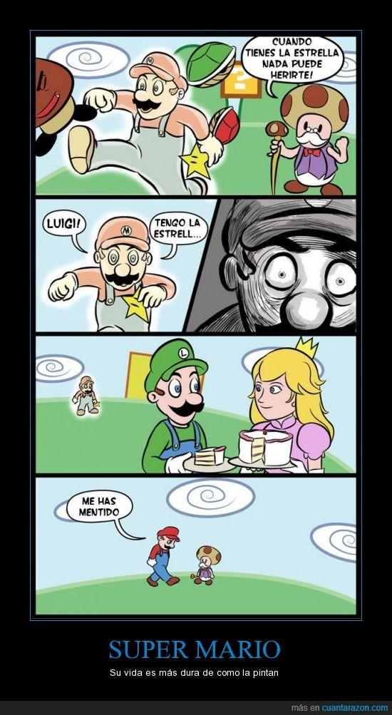 estrella,Luigi,Peach,Super Mario