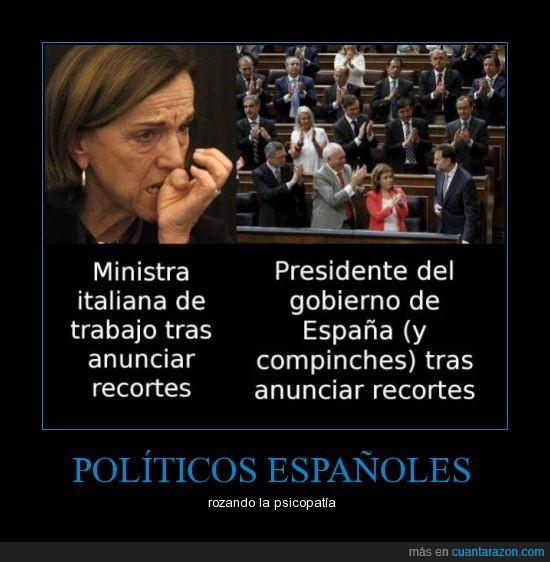 españoles,italia,la madre que los parió,llorar,políticos,recortes
