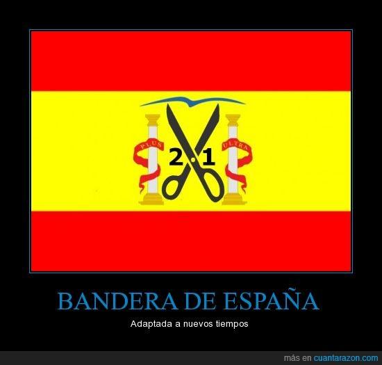 21,bandera,España,iva,rajoy,recortes,rojigualda