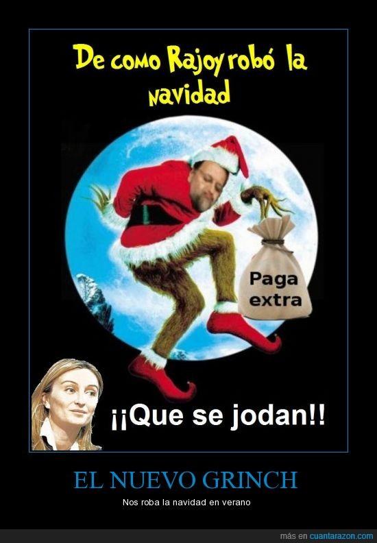 Crisis,Grinch,Rajoy,Recortes