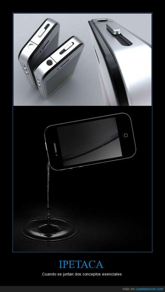 alcohol,iphone,petaca