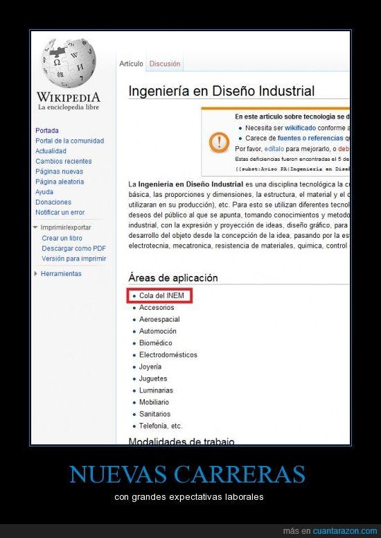 diseño,industrial,INEM,ingeniería,paro