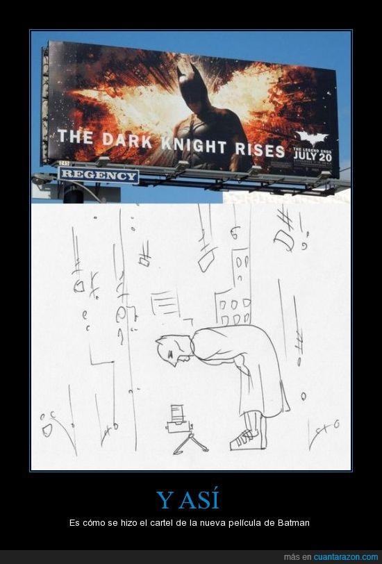 arriba,batman,camara,cartel,como se hizo,lol,publicidad