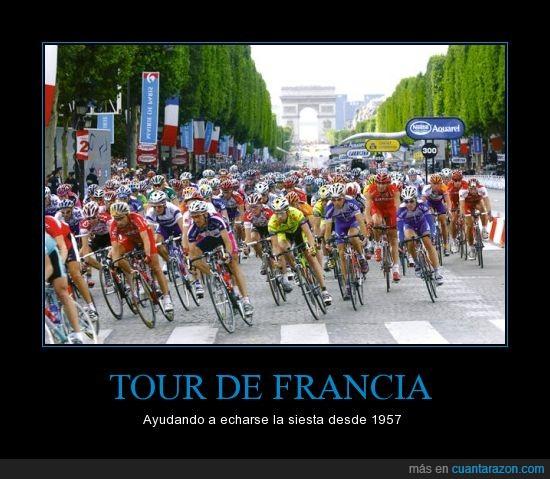 Francia,Le Tour,RTVE,siesta