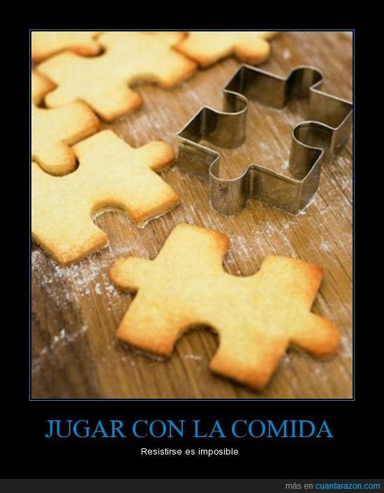 galletas,jugar,lo quiero,molde,puzzle,rompe cabezas,también lo quieres