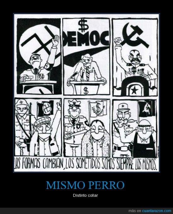 capitalismo,comunismo,ejercito,nazi,politica,pueblo,subyugar