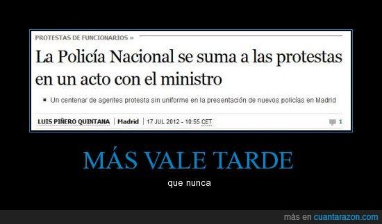 acto,Crisis,España,policía,protesta,Recortes,suma,une