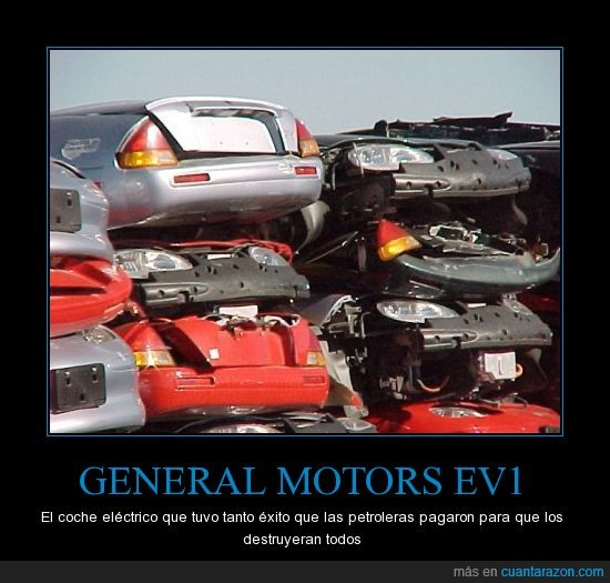 chatarra,coche,desguace,eléctrico,feo,general motors