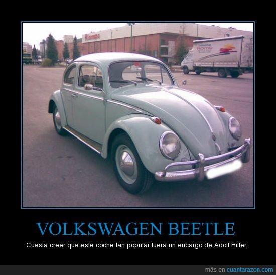 coche,coche pueblo,hitler,nazi,volkswagen
