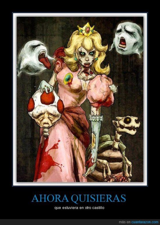 apocalipsis,bros,castillo,mario,nintento,zombi