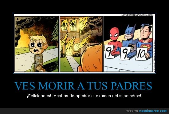 badman,fuego,incendio,morir,spiderman,superheroes,superman