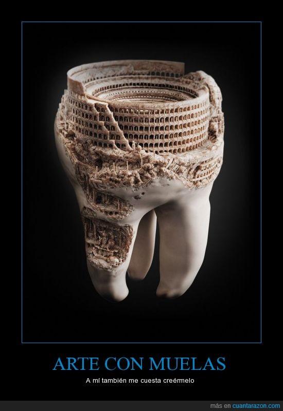 arte,chinos,diente,muela,piños,tallado,trabajo