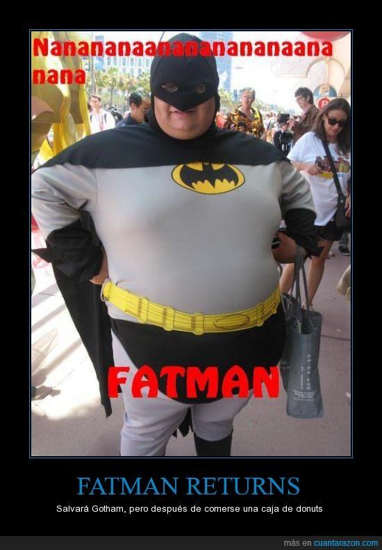 batman,fatman,gordo,humor,superheroe,this is USA