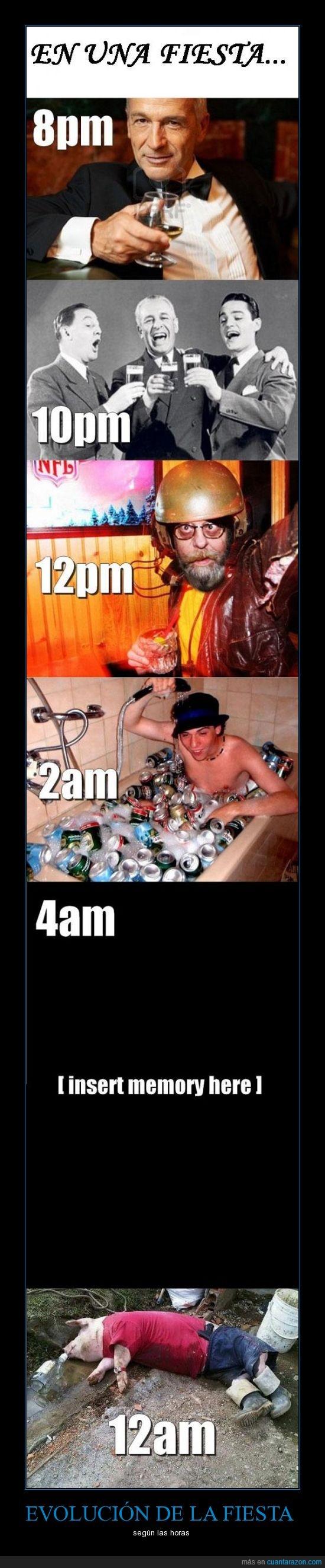 beber,borracho,cerdo,fiesta,horas