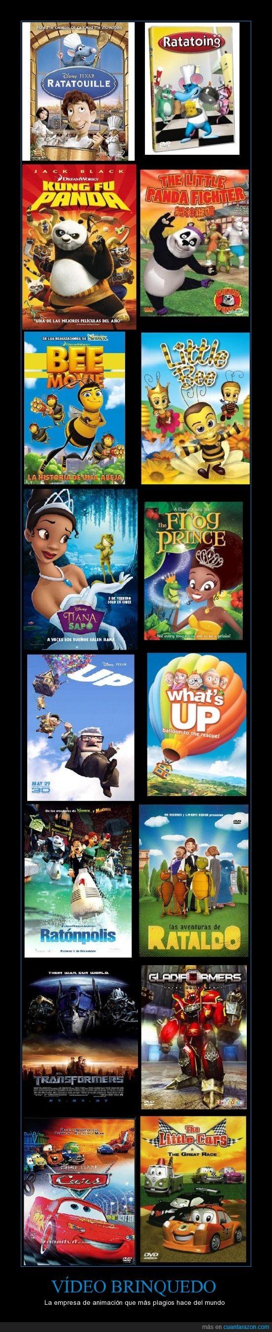 animación,brasileños,películas,plagios,que raro que no sean chinos,vídeo brinquedo