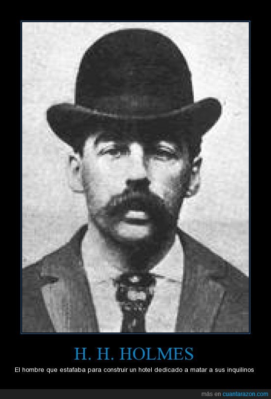 asesinos,chicago,holmes,hotel